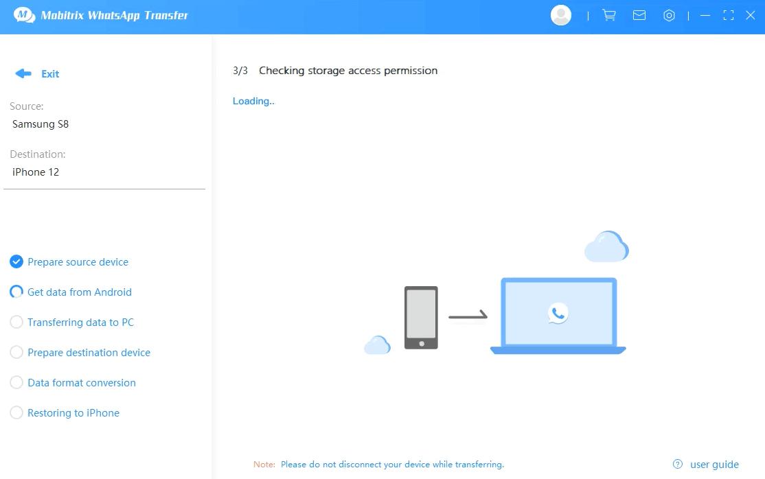 allow permissions storage