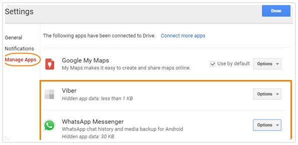 google drive backup whatsapp