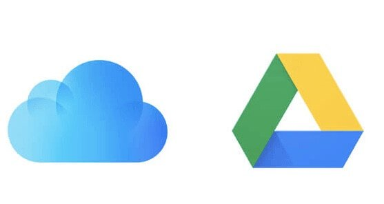 restore whatsapp from google drive to icloud